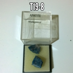 Apatite  natural Crystal mineral specimens in case